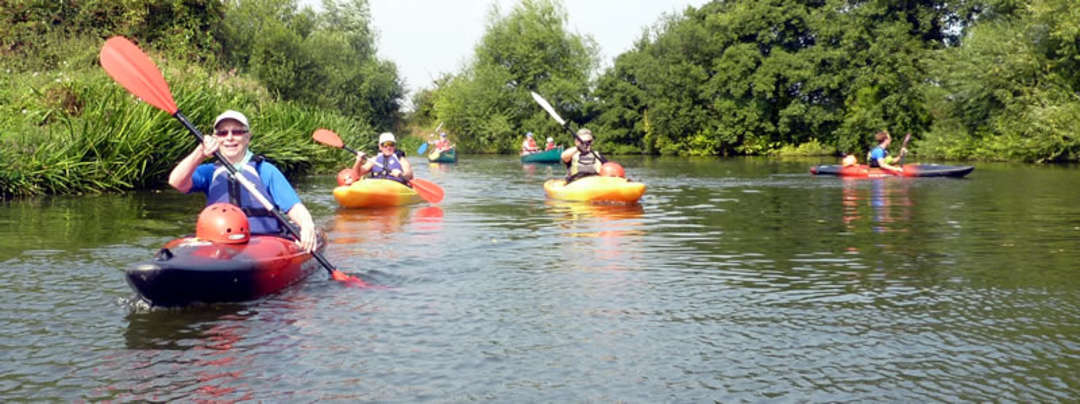 Half Day kayak river trip and Paddle Start Award - Tonbridge