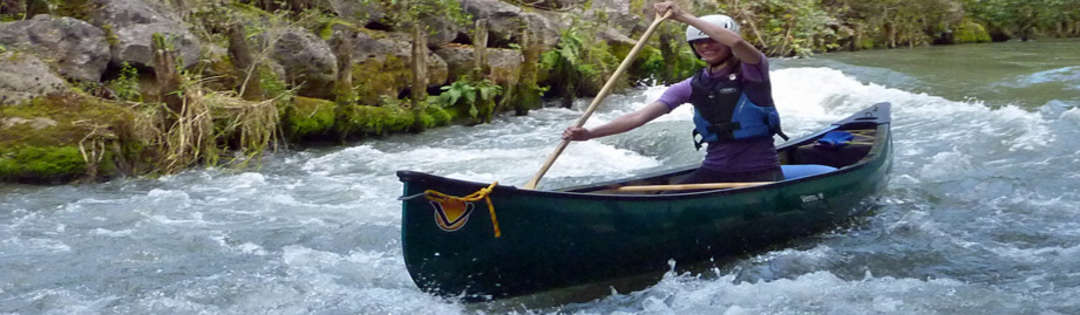 Guided canoe/kayak  trips - River Canche